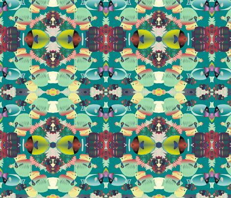 coral reef 1 fabric by kociara on Spoonflower - custom fabric
