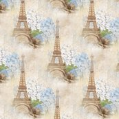 Reiffel_tower_sepia_blue_hydrangea_seamless_shop_thumb