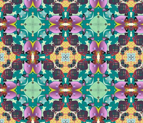 coral reef 2 fabric by kociara on Spoonflower - custom fabric