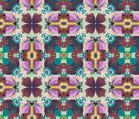 coral reef 3 fabric by kociara on Spoonflower - custom fabric