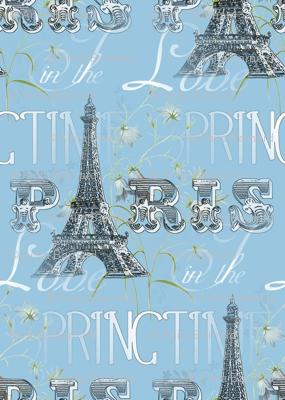 Paris in The Springtime Blue