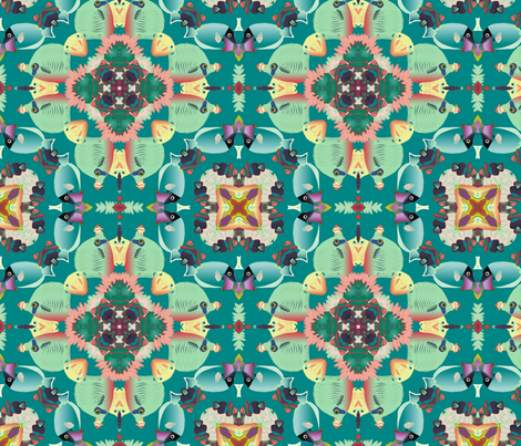 coral reef 11 fabric by kociara on Spoonflower - custom fabric
