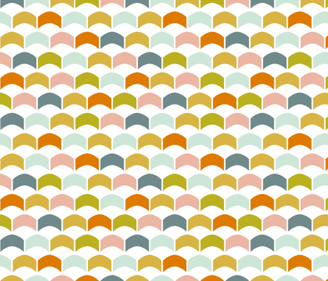 SorbetScallops fabric by mrshervi on Spoonflower - custom fabric