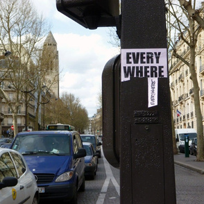 """Everywhere"" Street Art, Paris"