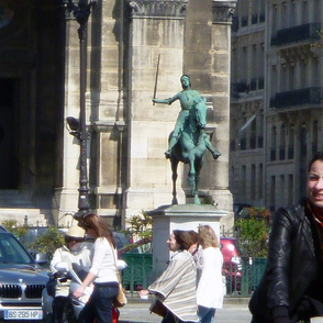 Joan d'Arc, St. Augustine's, Paris