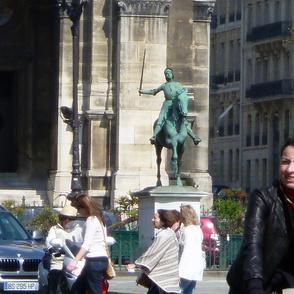 Joan d'Arc, St. Augustine's, Paris