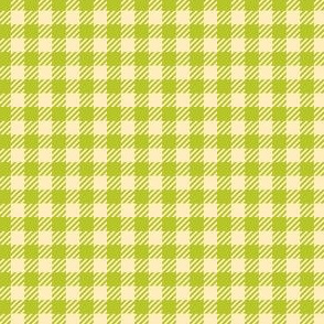 Apple-Green_and_Cream_Quarter-inch Checks