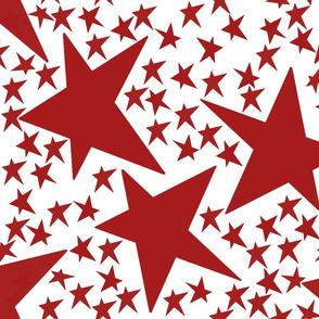 Stars Red 3