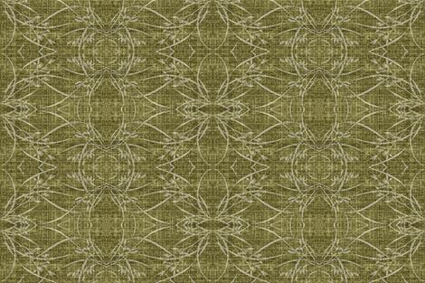 wild grasses - green fabric by materialsgirl on Spoonflower - custom fabric