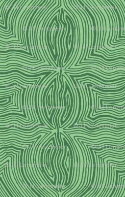 Green Two Color Fun