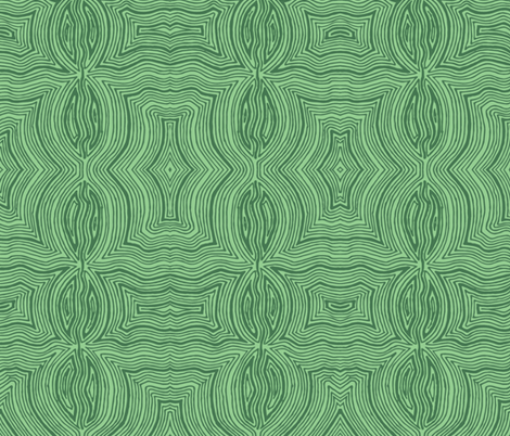 Green Two Color Fun fabric by shinyjill on Spoonflower - custom fabric