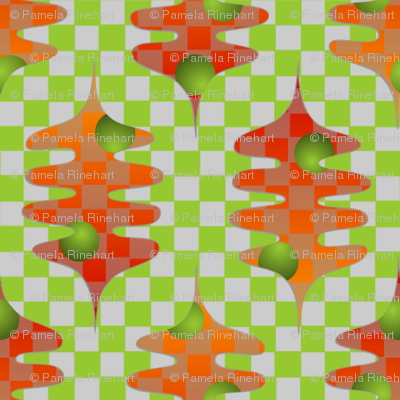 checker leaves