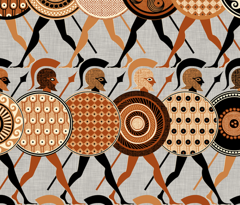 Hero.wallpaper fabric by spellstone on Spoonflower - custom fabric