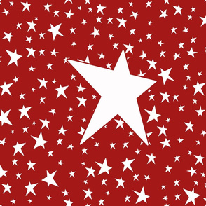 Stars Red 5