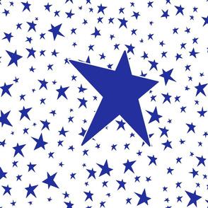 Stars Blue 6