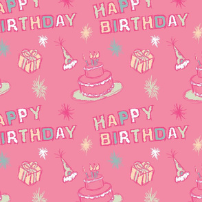 Pink Party Birthday