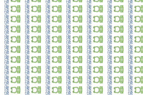 frogs fabric by dsa_designs on Spoonflower - custom fabric
