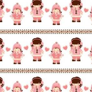 Pink Snow Sisters