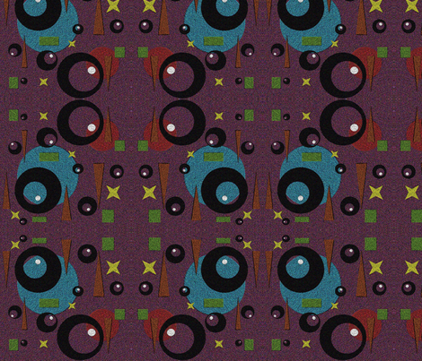 Asphalt patch fabric by retroretro on Spoonflower - custom fabric