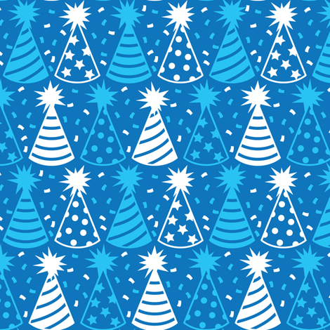 And Here is Your Party Hat! fabric by robyriker on Spoonflower - custom fabric