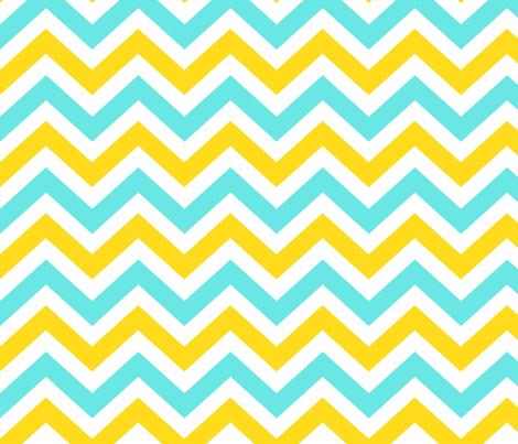 Ziggy Minty Citrus fabric by natitys on Spoonflower - custom fabric