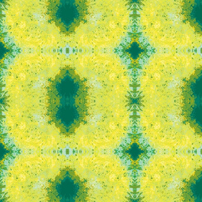 Abstract60-teal/yellow