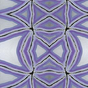 Purple Silver Star