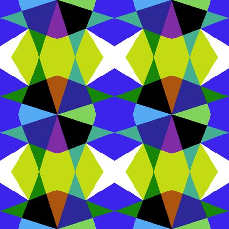 Kaleidoscope 1 fabric by volkstricken on Spoonflower - custom fabric