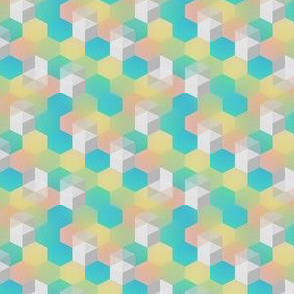 Bright Hexagons