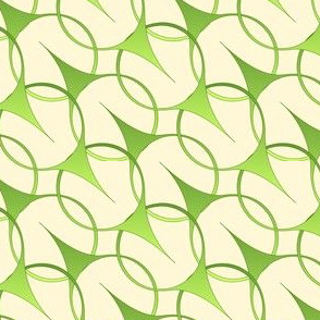 Leaves  Blow - cream ground