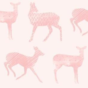 Curious Deer Pink