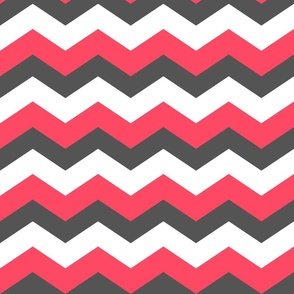 Chevron Grey Pink
