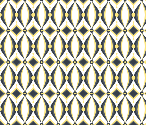 mod wallpaper fabric by ninjaauntsdesigns on Spoonflower - custom fabric