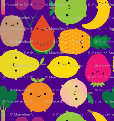 Fruit Bowl (purple)