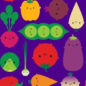 Vegetable Garden (purple)