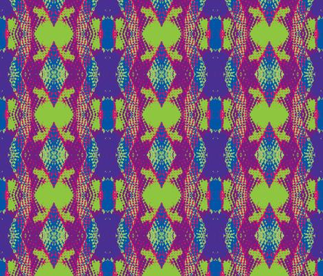 spraypaint_squares klaidescope-snakeskin-halfbrick fabric by krizz_inc_ on Spoonflower - custom fabric