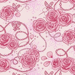 Paradise Kiss Roses Pink