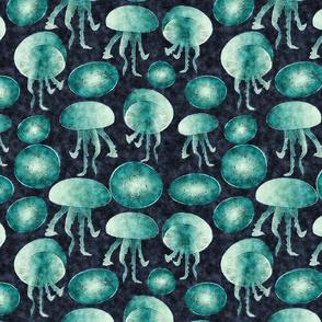 jellyfish watercolour
