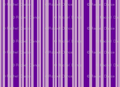ButterfluFlutterby stripe - true purple & lilac