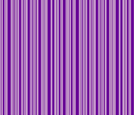 ButterfluFlutterby stripe - true purple & lilac fabric by celttangler on Spoonflower - custom fabric