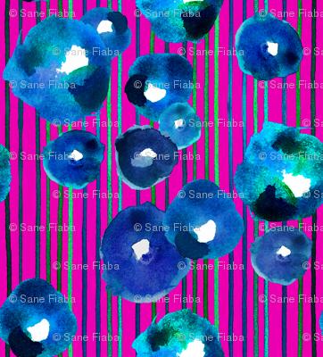 blue rain blossom
