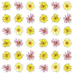 Yellow Flower Dot