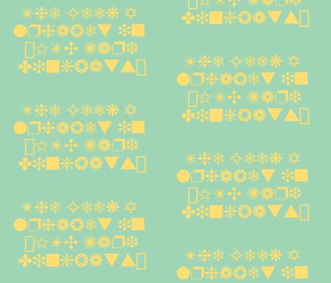 The Elusive Geek Alphabet-ch fabric by nansi_mackintosh on Spoonflower - custom fabric