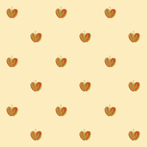 apple dots fabric by weavingmajor on Spoonflower - custom fabric