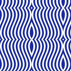 Waving Bars Blue 4