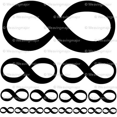 infinitiki on white