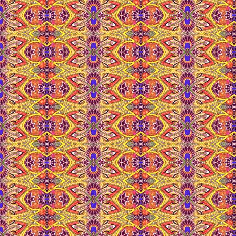 Bollywood Sunshine Stripes fabric by edsel2084 on Spoonflower - custom fabric