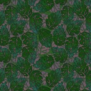 leaves apart mauve