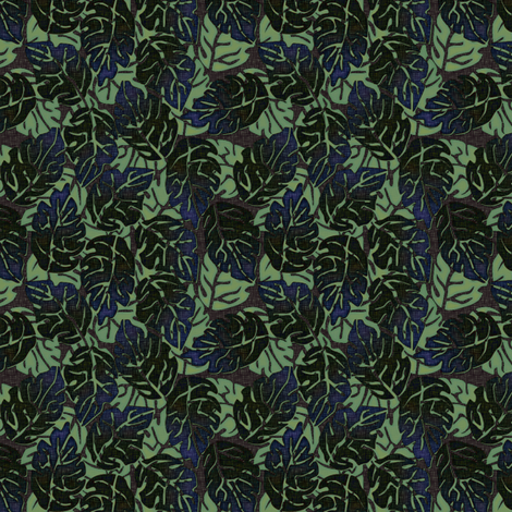 leaves apart evening fabric by glimmericks on Spoonflower - custom fabric