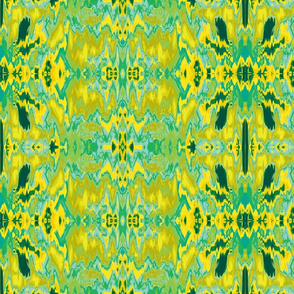Abstract59-teal/yellow